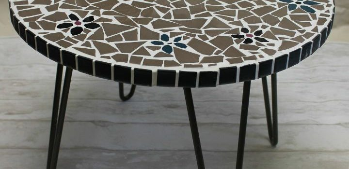 The mosaic coffee table