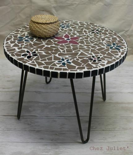 Mosaic coffee table