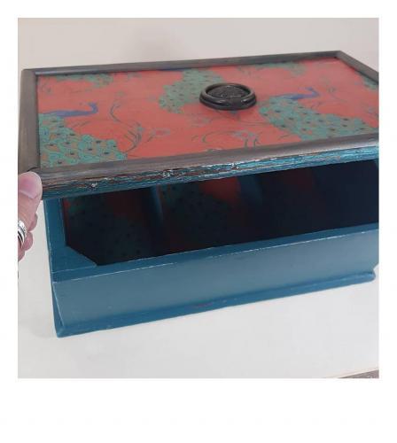 Antique jewellery box Jn1